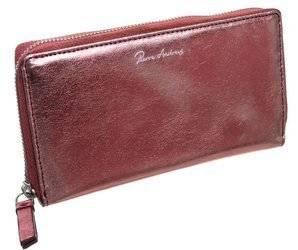 Przepiękny błyszczący portfel damski piórnik, marki Pierre Andreus®