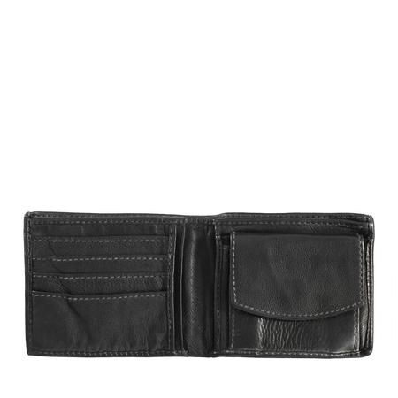 Mały męski portfel skórzany w stylu vintage DuDu